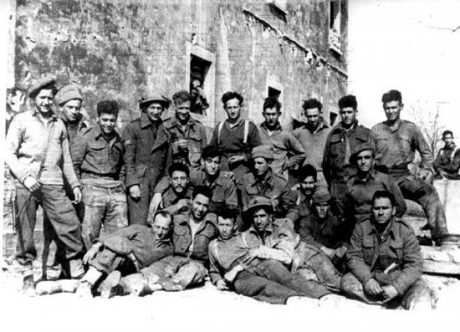 Η Εβραϊκή Ταξιαρχία του Βρετανικού Στρατού ιδρύθηκε επίσημα τον Σεπτέμβριο του 1944...