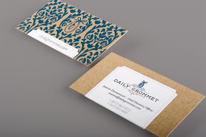 Daily Grommet business card