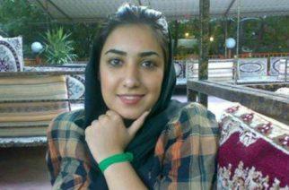 Iranska regimen släpper artisten Atena Farghadani