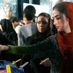 iran elections ppl voting