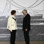Europe's Catherine Ashton and Iran's Saeed Jalili