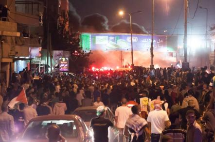 Palestinians protesting against Israel in West Bank. Photo: Vice.com