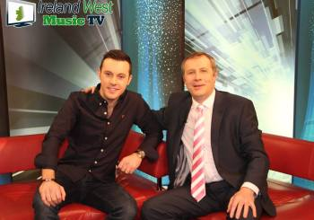 Nathan Carter Co-Hosts IWMTV