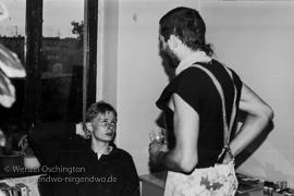 Treppenhaus-Fete |  7. Mai 1989