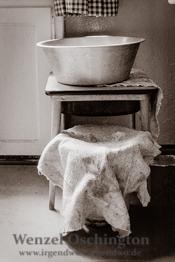 Waschgelegenheit  |  Magdeburg 1989