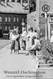 Bushaltestelle Sudenburg  |  Magdeburg 1989