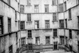 Magdeburg 1989  |  Hinterhöfe | Hasselbachplatz