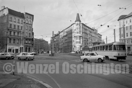Magdeburg 1989  |  Hasselbachplatz |  Bahnhofstraße