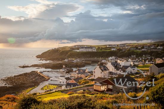 Hafenstädtchen Portpatrick  –  schottische Westküste