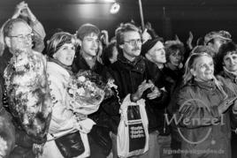 Willkommen für Willy Brandt - Magdeburger Domplatz 19. Dezember 1989