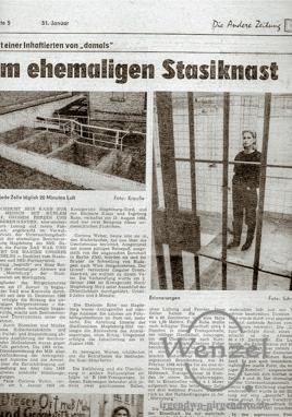 Im Stasi-Knast Magdeburg Moritzplatz