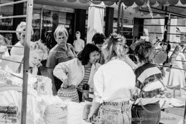 Magdeburger Stadtansichten 1990 – vor dem Centrum - Warenhaus