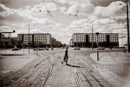 Magdeburger Stadtansichten 1990 – Breiter Weg / Centrum - Warenhaus