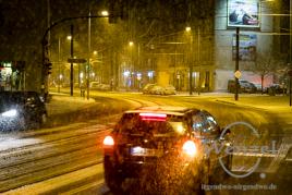 Es schneit in Magdeburg - Buckau