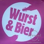 Wurst und Bier in Berlin