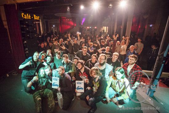 Die Teilnehmer des 1. Vorausscheids - SWM TalentVerstärker 2015