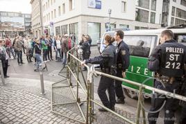 Marschieren und Spendieren - MAGIDA  gibt alles für die Islamische Gemeinde Magdeburg