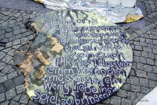 Rettungsinsel als Raum  für künstlerische Interventionen