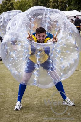 1. Bubble Football Open Air  -  Magdeburg