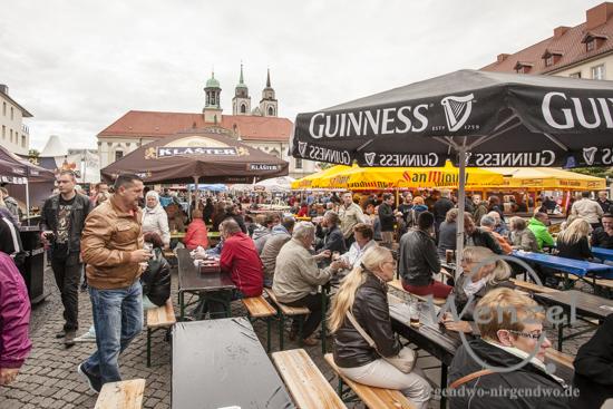1. Magdeburger Bierbörse - Alter Markt wird zum Biergarten
