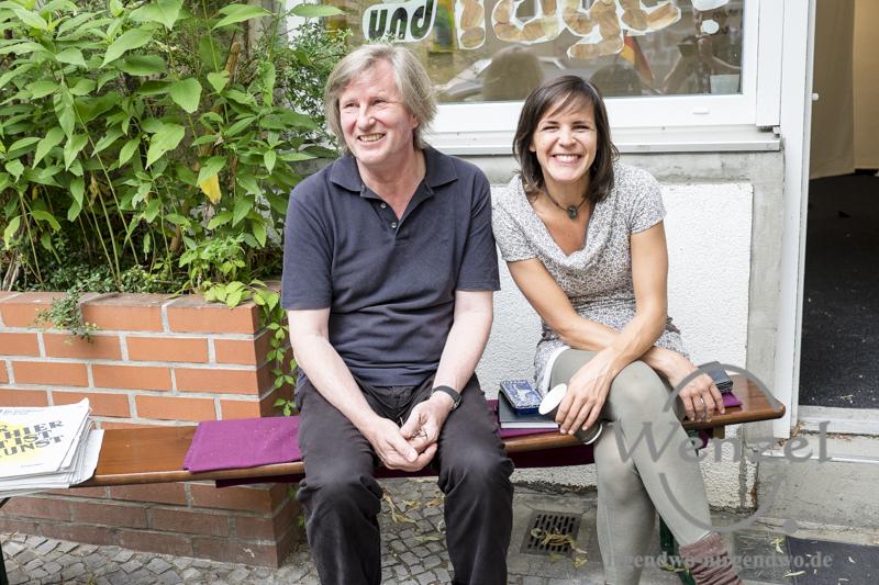 Kunst als Therapie -   Otto Fenner und Christin Klopitzke - 48 Stunden Neukölln