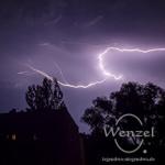 Gewitter über Magdeburg