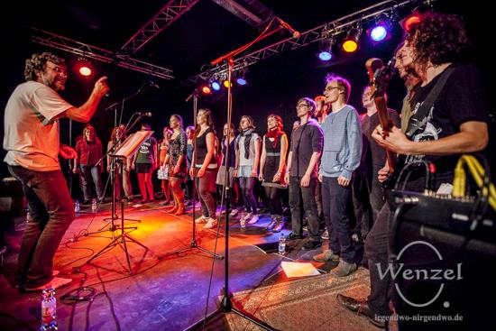 Erich-Fried-Chor beim Festival Gundis Lieder – Gundis Themen