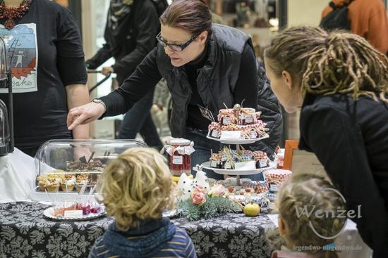 Himmel und Hölle Cupcakes - Gründermarkt Magdeburg 2015
