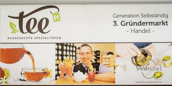 Tee hoch n - Gründermarkt Magdeburg 2015