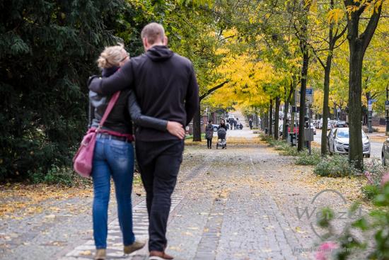 Magdeburg im Herbst - Hegelstraße