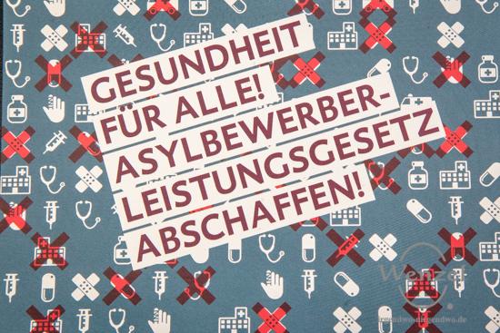 Gesundheit für alle! - Asylbewerberleistungsgesetz abschaffen