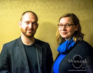 Nadine Staats und Philipp Kloss – MUSIKKOMBINAT MAGDEBURG
