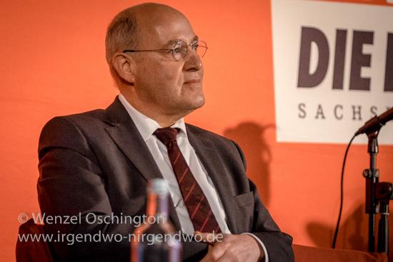 Wahlkampfunterstützung für DIE LINKE durch Gregor Gysi – Moritzhof Magdeburg