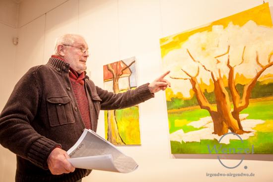 Dieter Lahme - Bildbesprechung der Ausstellung von Gabriele und Andreas Herbst
