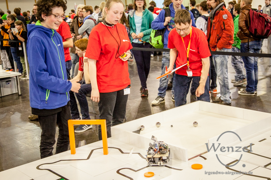RoboCup Junior Finale  -  Messe Magdeburg