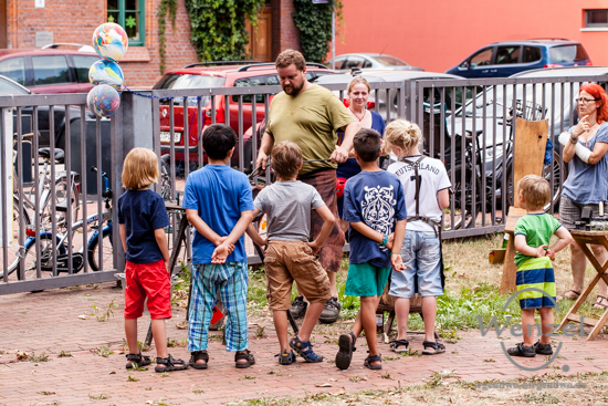 Volksbad Buckau, Frauenzentrum Courage, Hoffest, Magdeburg, Buckau –  Foto Wenzel-Oschington.de