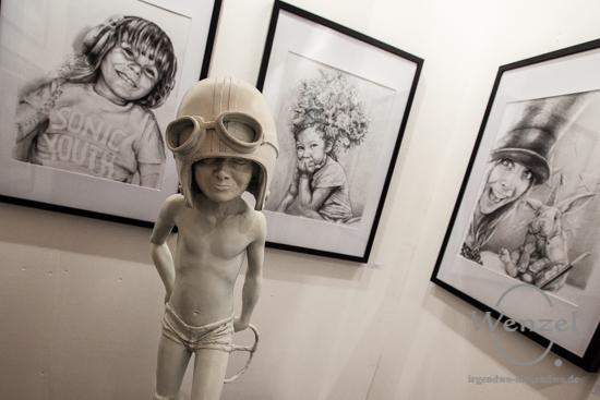 Thomas Andrée, Kunstmesse Mitteldeutschland, Turmpark Salbke, zeitgenössische Kunst, KUNST/MITTE, Magdeburg –  Foto Wenzel-Oschington.de