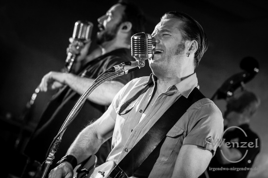 Boppin' B –  Rock'n'Roll & Rockabilly in der Baracke –  Foto Wenzel-Oschington.de