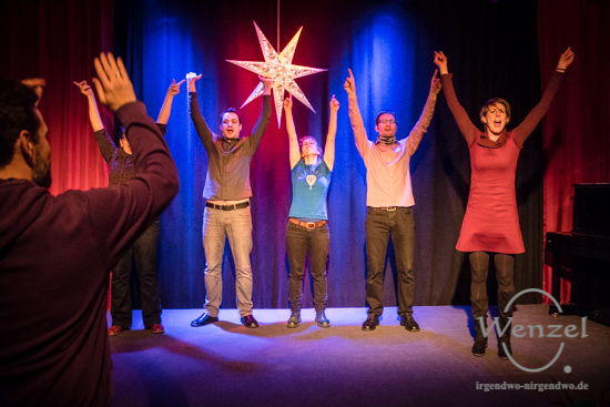 Improvisationstheater Tapetenwechsel –  Foto Wenzel-Oschington.de