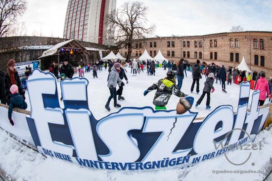 Eiszeit - das große Wintervergnügen in der Festung Mark –  Foto Wenzel-Oschington.de