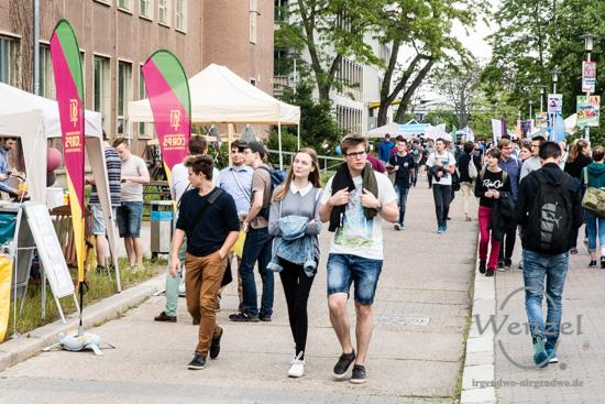 campusdate LIVE – Studieninfotag der Uni Magdeburg –  Foto Wenzel-Oschington.de
