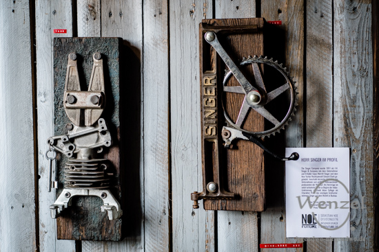 Offene Ateliers - Q.Hof  - Werk 4 – Magdeburg Buckau –  Foto Wenzel-Oschington.de