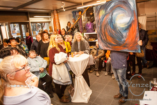 Kunst-Auktion für gute Zwecke – Querstyle / Magdeburg –  Foto Wenzel-Oschington.de