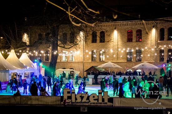 ECOC 2025, European Capitals of Culture, Kulturhauptstadt Magdeburg, Magdeburg 2025, Ottostadt, Eiszeit, Festung Mark, Eislaufbahn, Schlittschuh, Eisstockschießen –  Foto Wenzel-Oschington.de
