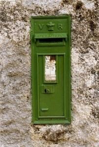 Irish Post Box Near Maum, Co. Galway