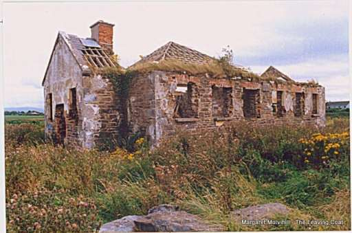 Ruins Of An Old Schoolhouse In County Kerry