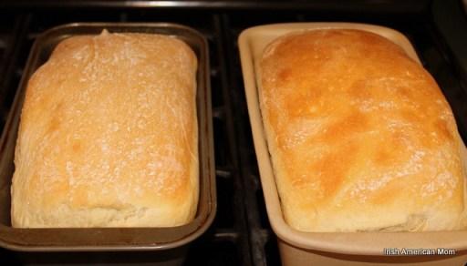 Baked Potato Bread Loaves