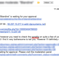 Most ironic spam email ever!