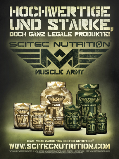 Muscle Army von Scitec Nutrition