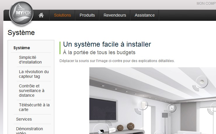 systeme surveillance simple myfox